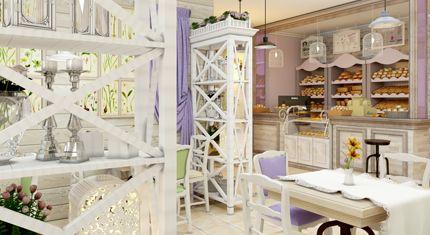 Дизайн интерьера пекарни, интерьер пекарни фото