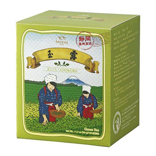Japan Gyokuro Cha -Japanese Green Tea /10 Loose Leaf Tea Bags /30g /1.06oz.