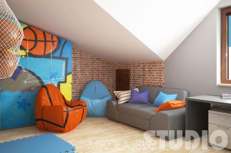 Kolorowy pokój dla chłopca