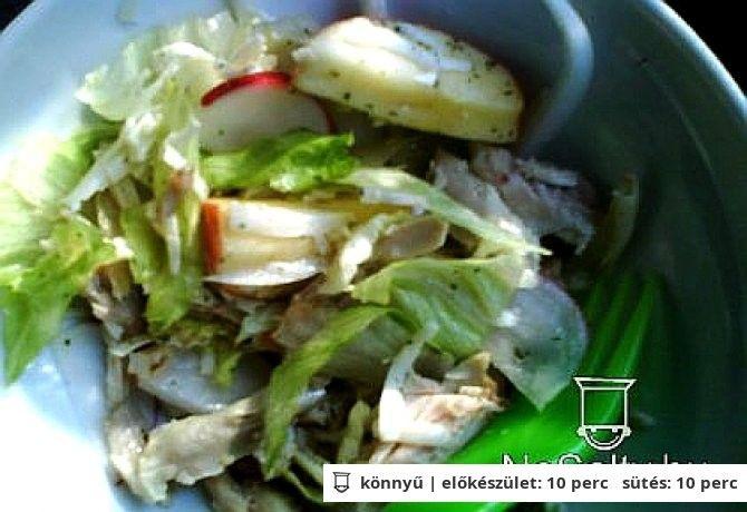 Őszi saláta csirkehússal