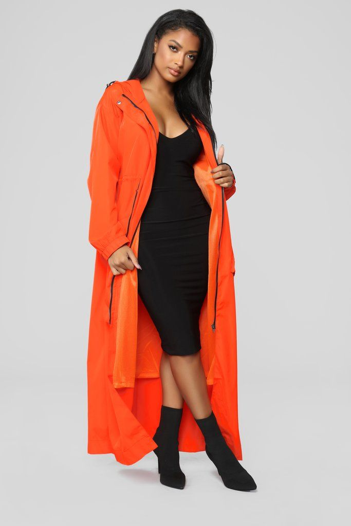 c374f7879c0 Street Amor Jacket - Orange in 2019 | Fashion Nova | Outerwear ...