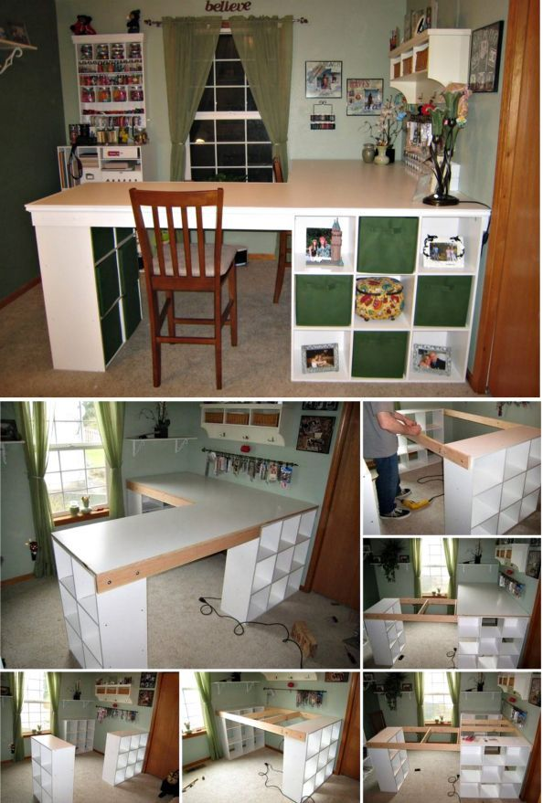 DIY Craft Desk