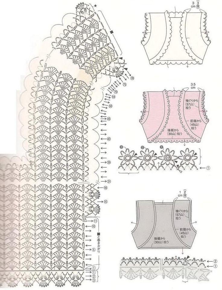 114 Best Crochet Boleros Images On Pinterest Crochet Boleros