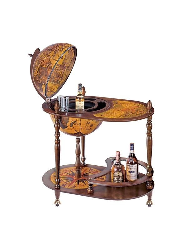Globe Drinks Cabinet Car Semplice