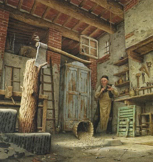 çizgili masallar: The Adventures of Pinocchio by Roberto Innocenti - Part 1