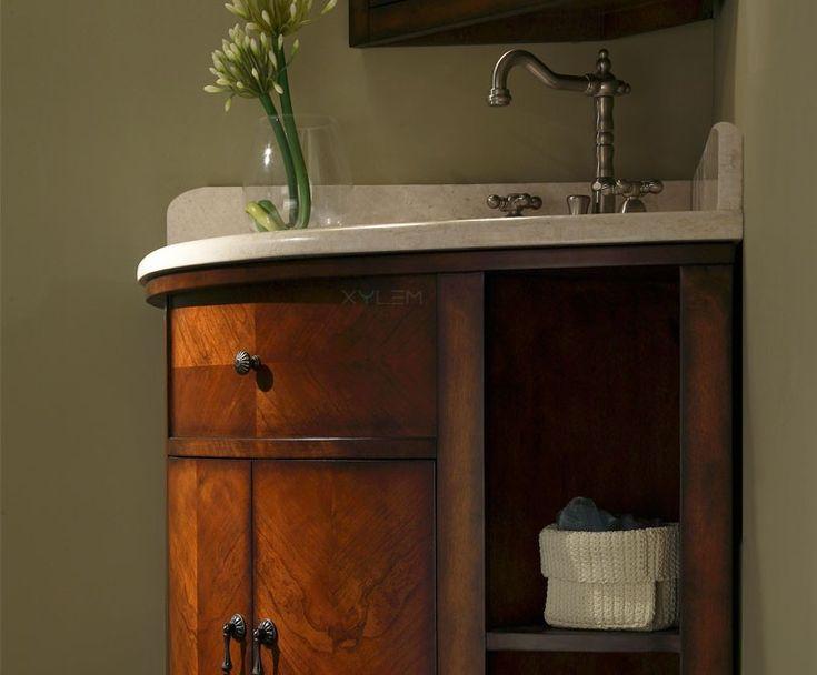 Bathroom With Corner Vanity: Bathroom With Corner Vanity Wood ~ Bathroom  Inspiration