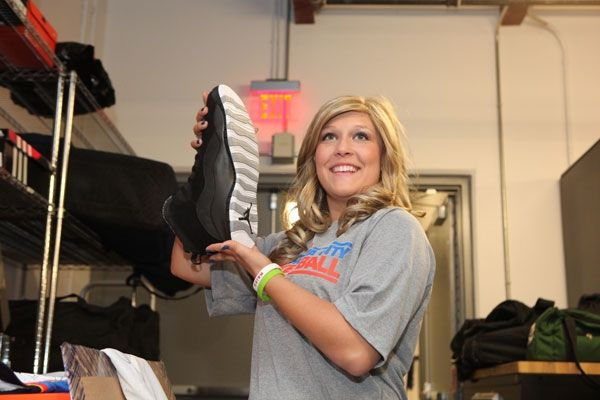 Nick Collison Shoe Size