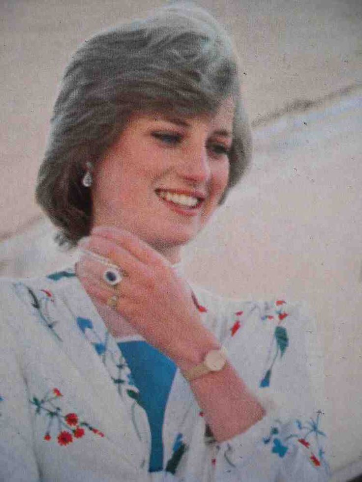Lady Diana Spencer and Charles, Prince of Wales, became engaged in February 1981. Her engagement ring consists of 14 solitaire diamonds surrounding a 12-carat oval blue Ceylon sapphire set in 18-karat white gold. It was created by jeweler Garrard and cost at the time, 28,000 pounds sterling.Diana's selection of this ring was unusual. It was neither custom-made nor unique and was, at the time of her engagement to Charles, featured in Garrard's jewellery collection and available to anyone for…