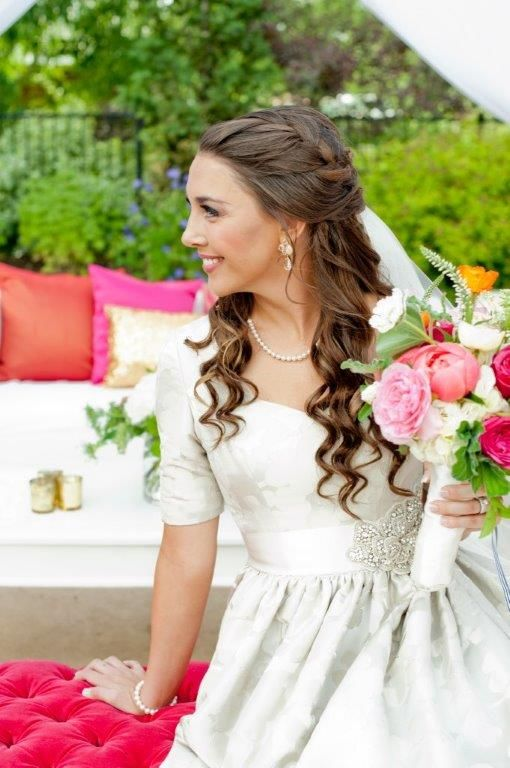 Wedding day hair. Perfection. | Carrie Purser Makeup and Hair Artistry