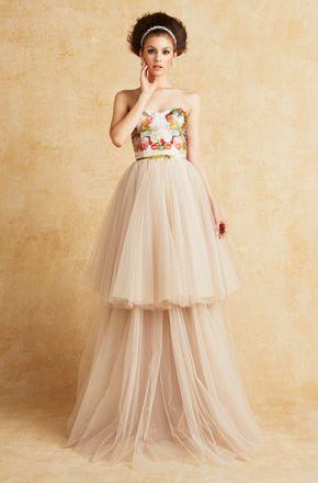 人と同じは嫌♡インポートの花嫁衣装♡カラードレスのまとめ一覧♡