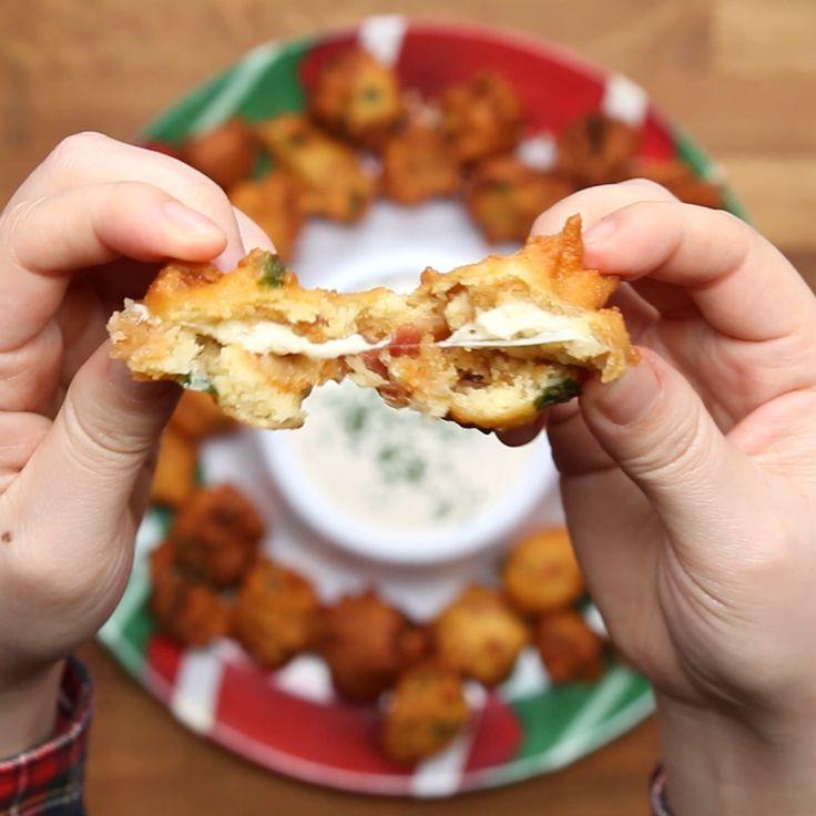 Mozzarella Sticks [Video] [Video] Food, Cheesy bacon, Snacks