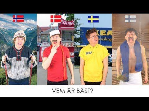 Vem är bäst? #NORDEN - YouTube