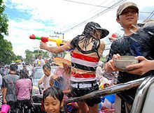 Songkran Baybehh!!! If you have not tried this at least once in your life time, you're missing out on the best fun ever.