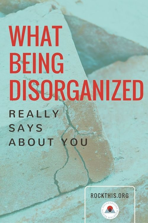 The struggle of getting organized... it's real. What does it really mean if we are in a constant state of mess and chaos? Great read about getting to the truth of the matter. It's not what you think.