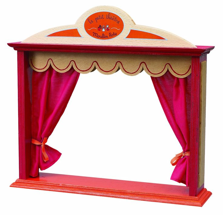 Moulin Roty Grand Family Puppet Theatre: Amazon.co.uk ...