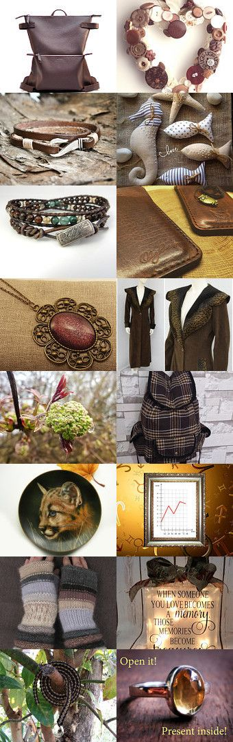BROWN T CHALLENGE  by Siskale on Etsy--Pinned+with+TreasuryPin.com