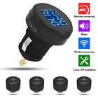 Car Wireless 4 External Sensors TPMS Tire Pressure Monitoring System Cigarette - Bid Now! Only $64.0