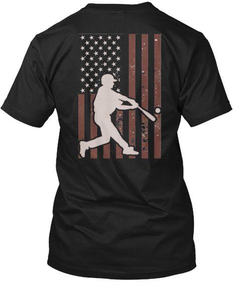 America-039-s-Pastime-Baseball-Batter-Hanes-Tagless-Tee-T-Shirt
