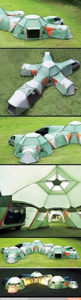 Cool tent i need this!