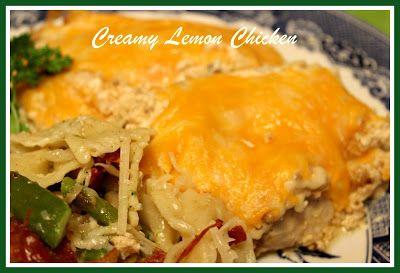 Sweet Tea and Cornbread: Loretta Lynn's Creamy Lemon Chicken!