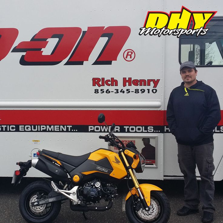 Congratulations to Rich from #Deptford on his purchase of this 2015 #Honda #Grom #125 Enjoy all the fun. Thank you for making your purchase at #DHYMotorsports #mynewride #dhynj