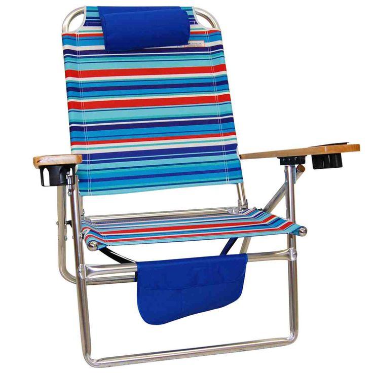Lightweight Folding Beach Chairs,beach Chair Mat With Pillow