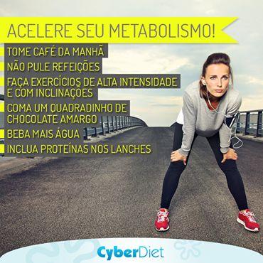 Dê um susto no seu metabolismo com atividades simples para serem feitas todos os dias! Trabalhando mais rápido, a perda de peso também é acelerada, principalmente se aliada a uma alimentação saudável! http://bit.ly/1mvdjC6