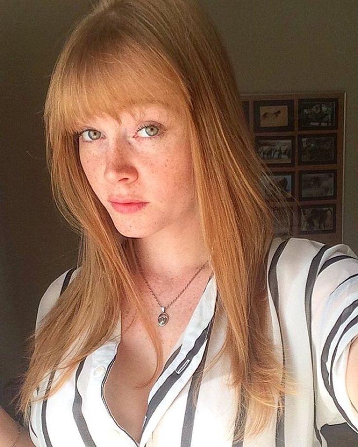strawberry blonde pussy hair
