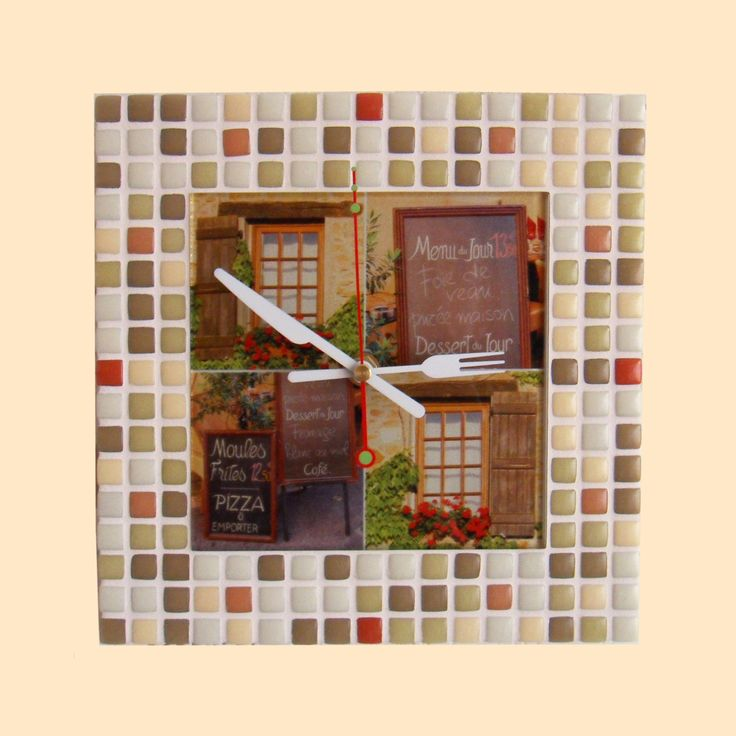 Rustic French Wall Decor : Ideas about rustic wall clocks on