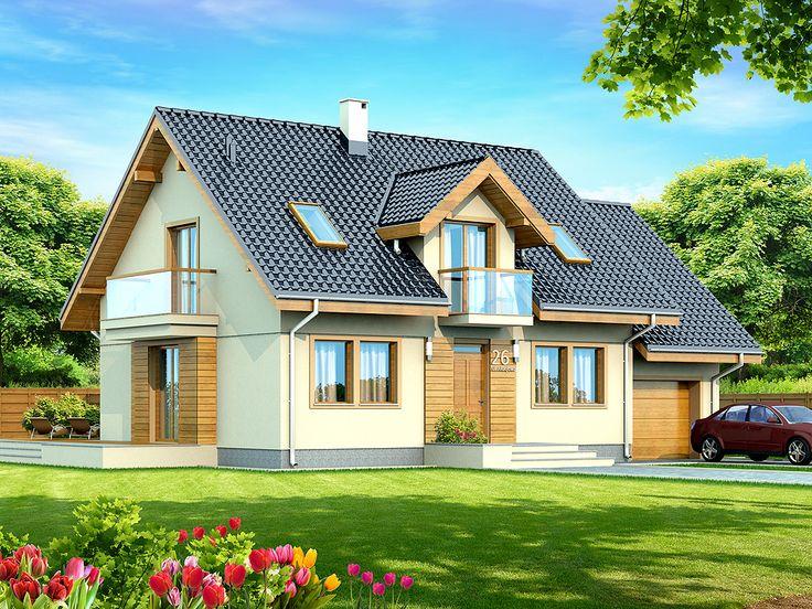 Projekat. Kuća KARMELITA MODERN CE (DOM PC1-43) | KucaSnova.com