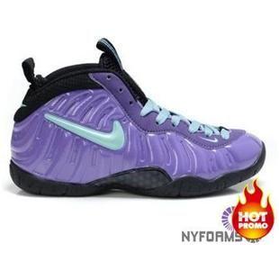 Nike Air Foamposite Pro Womens Purple Blue