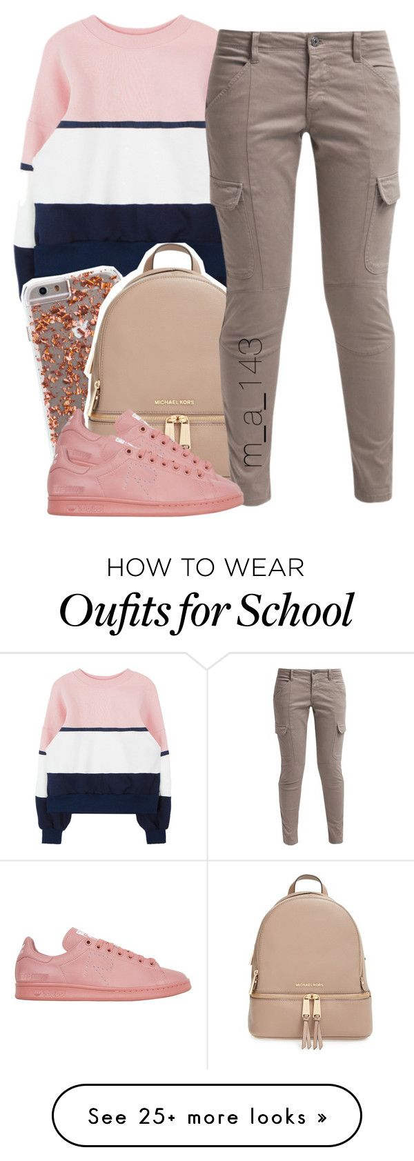 12|28|15 by mindlesslyamazing-143 on Polyvore featuring MICHAEL Michael Kors…