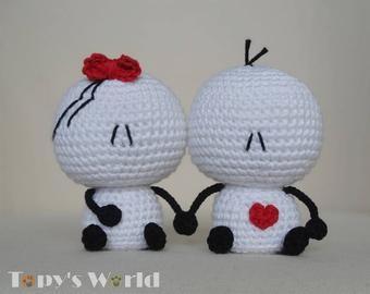 Bigli Migli (tiny) – crochet pattern, amigurumi pattern