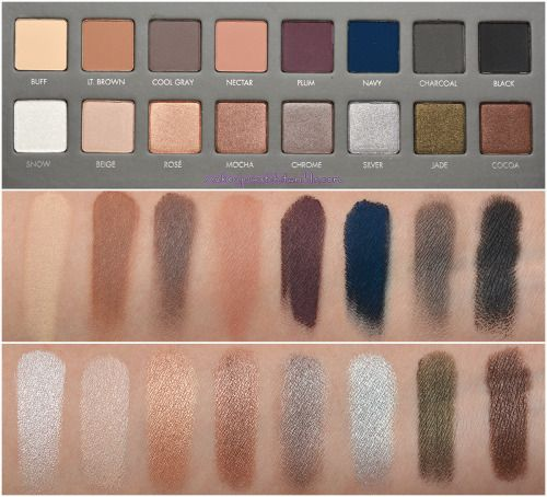 Bought January 2016. My first high-end eyeshadow palette, fell in love with the (powdery) smooth formula. The blue and purple shades don't blend out very well with a clean blending brush on primed and dry skin. The black shade isn't very pigmented on its own, but I use it for soft black on lashlines or outer corner of the eye.  LORAC PRO Palette 2
