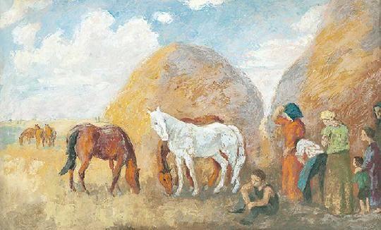 Szőnyi István - Délidőben, 1938