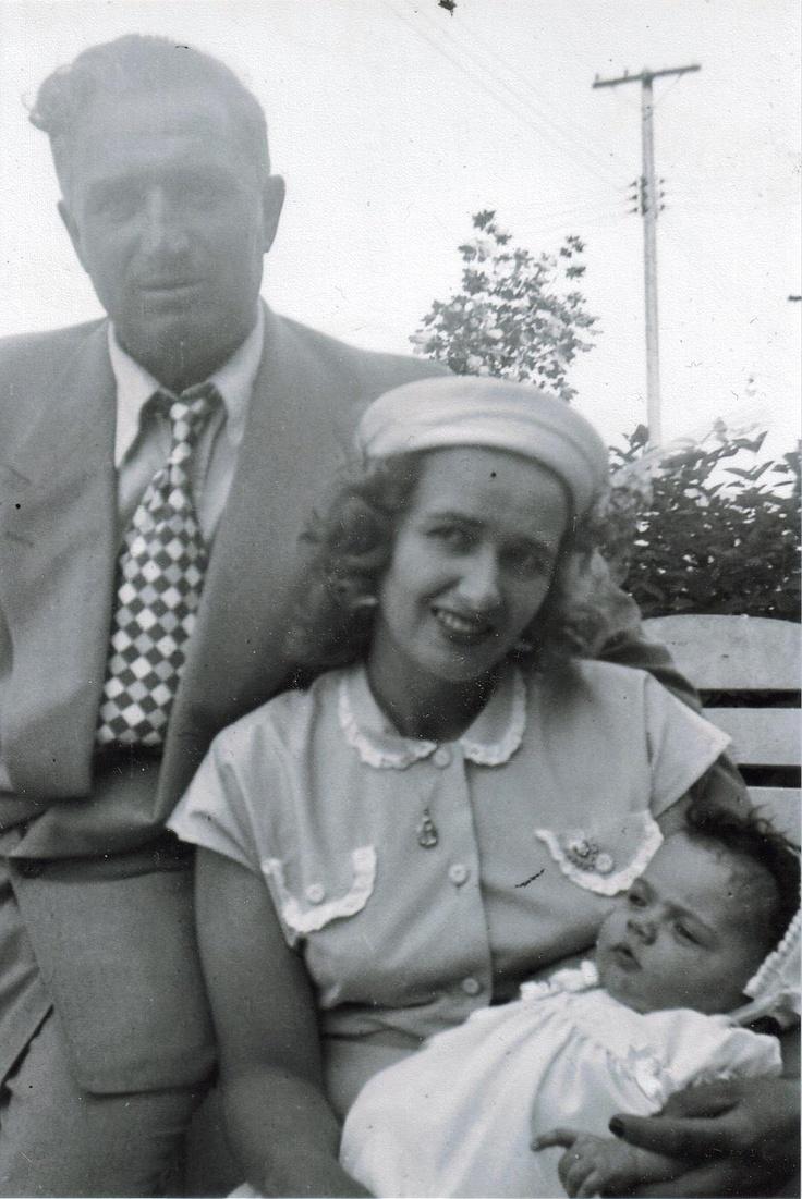 my dad & mom