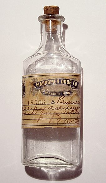 drink me inspiration....victorian medicine bottle