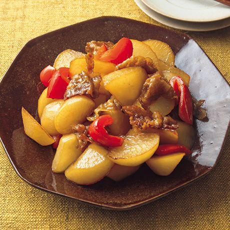 大根と豚バラの甘辛炒め   脇雅世さんの炒めものの料理レシピ   プロの簡単料理レシピはレタスクラブネット