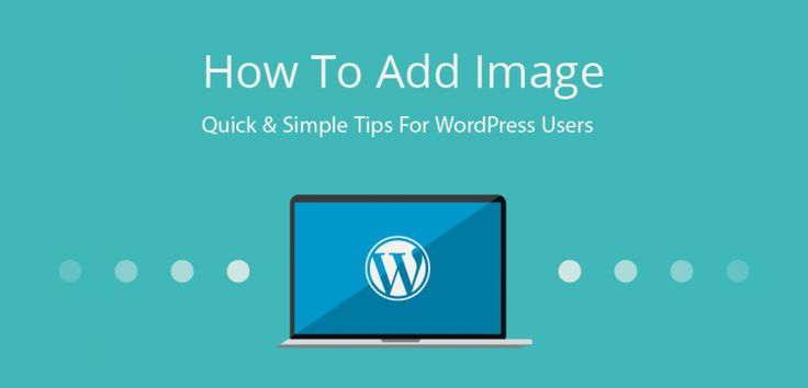 how to add words after a photo wordpress