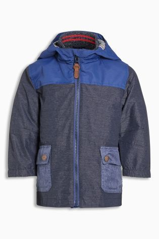 Buy Blue Colourblock Anorak (3mths-6yrs) online today at Next: Australia
