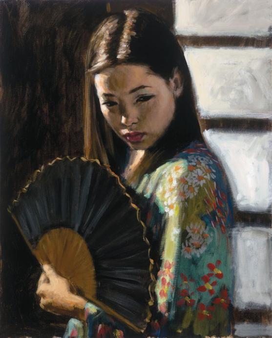 Fabian Perez - Study for Japanese Girl