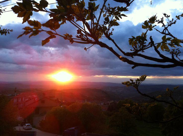 Puesta de sol #burunchel