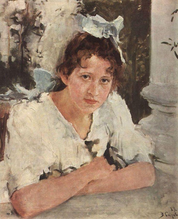 Серов В. А. Портрет П.А.Мамонтовой. 1889