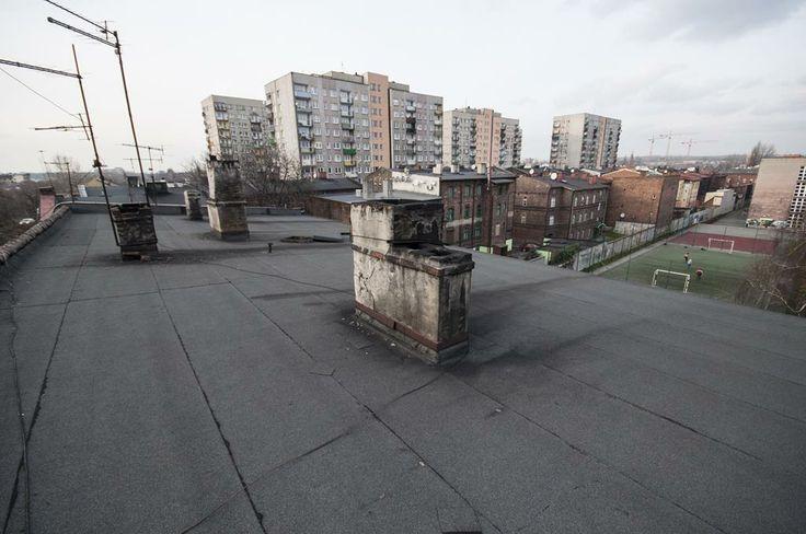 Dach i widok na okolicę, #slkamienice #townhouse #familok #śląsk #silesia #nieruchomosci