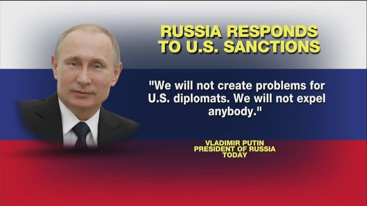 """JUST IN: Russian President Vladimir Putin said the country has no plans to """"create problems"""" for U.S. diplomats and that they """"will not expel anybody."""" http://fxn.ws/2hzuWqS"""