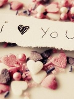 Download I Love You Mobile Wallpaper Is Compatible For Nokia