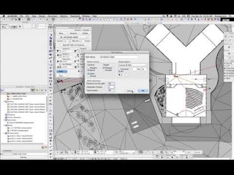 ArchiCAD Tip #21: The Basics of making a Movie from ArchiCAD