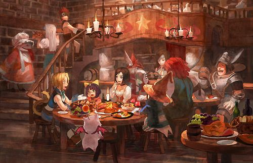 Final Fantasy IX artwork