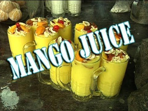 Best weight loss drink for ever\Delicious Mango Juice\Indian street food