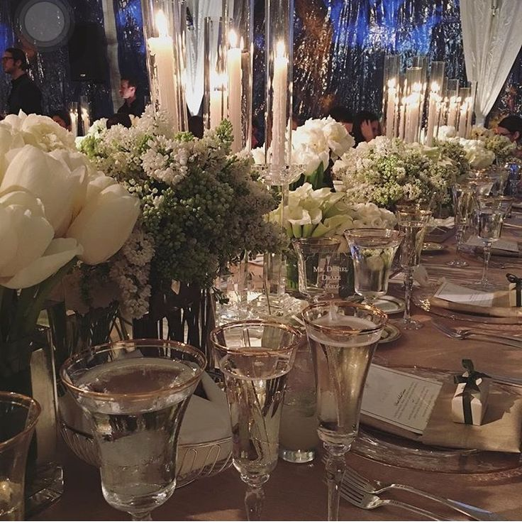 Morgan Stewart Wedding #weddingtable